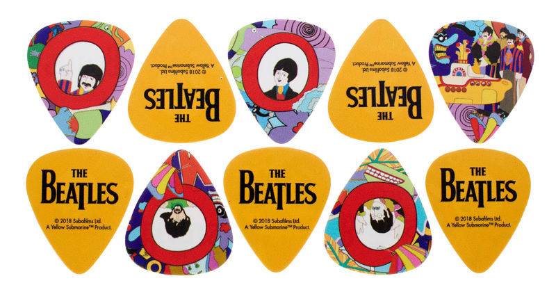 Daddario Beatles Yellow Sub Pick Heavy