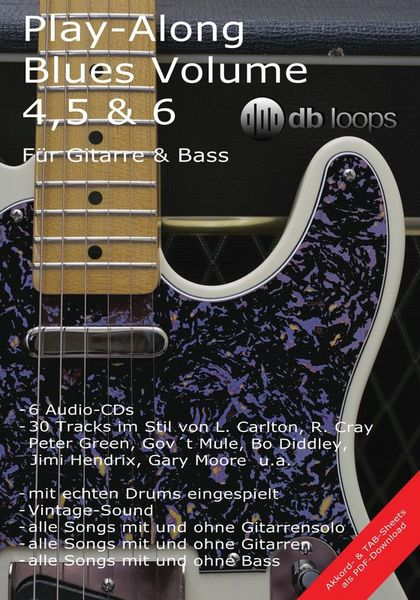 db loops Play Along Blues 4, 5 & 6