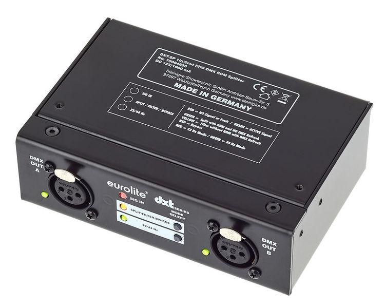 Eurolite DXT-SP 1in/2out PRO DMX RDM