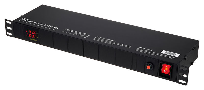 the t.racks Power 8 IEC VA