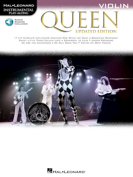Hal Leonard Queen Violin Play-Along