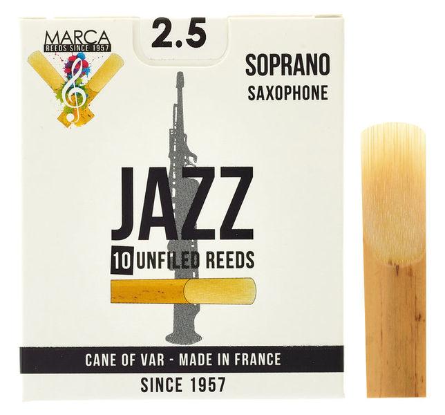 Marca Jazz unfiled Soprano Sax 2.5