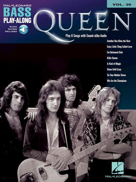 Hal Leonard Bass Play-Along Queen
