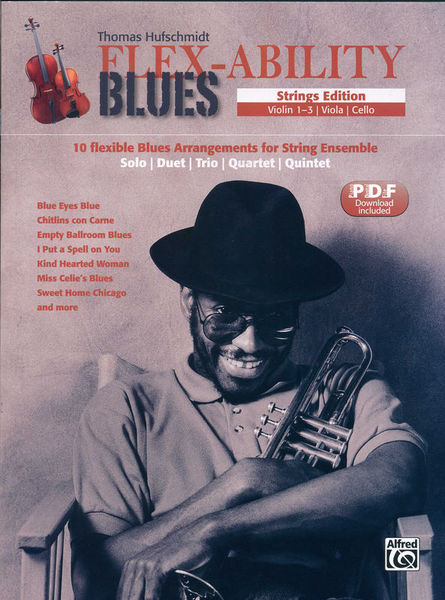 Alfred Music Publishing Flex-Ability Blues Strings