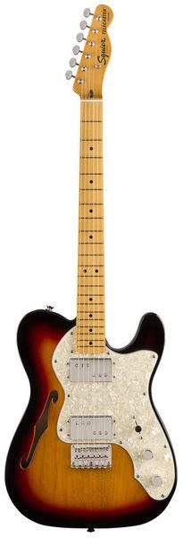 Fender SQ CV 70s Tele Thinline MN 3TS