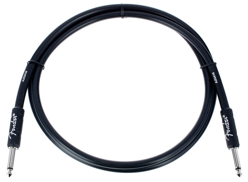 Fender Prof. Cable 1,5m Black