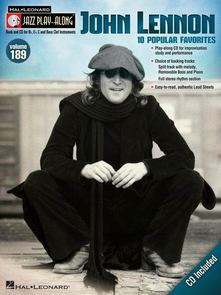 Hal Leonard Jazz Play-Along John Lennon
