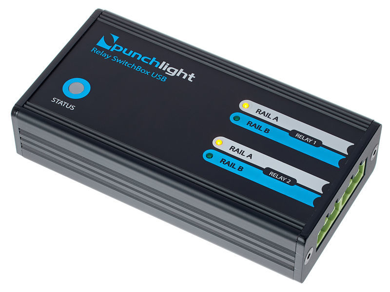 Punchlight Relay SwitchBox USB