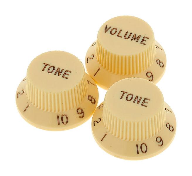 Fender Aged Knobs Strat Set LH