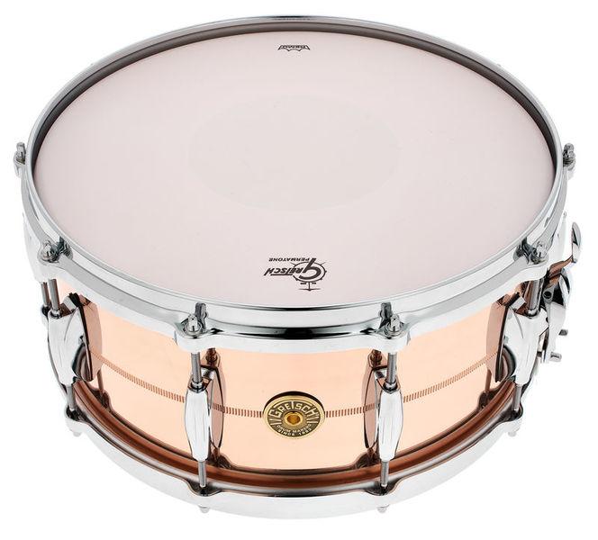 """Gretsch Drums 14""""x6,5"""" USA Phosphor Bronze"""