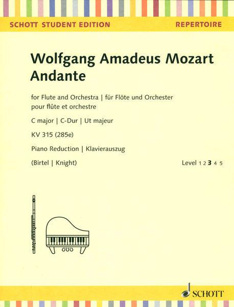 Schott Mozart Andante Flute