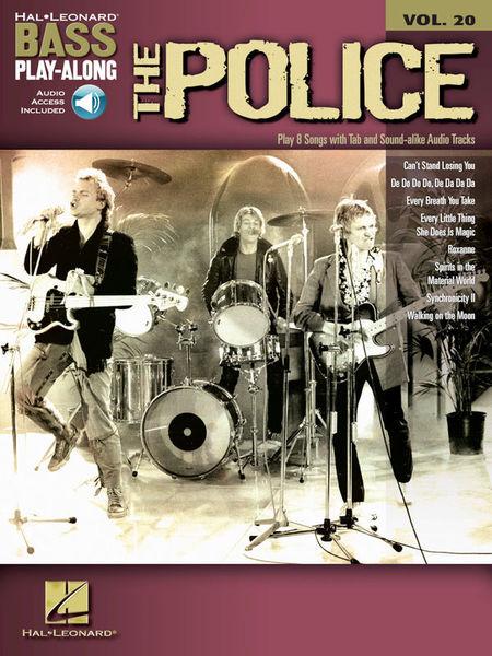 Hal Leonard Bass Play-Along The Police