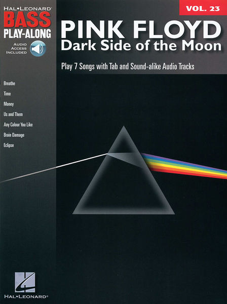 Hal Leonard Bass Play-Along Pink Floyd