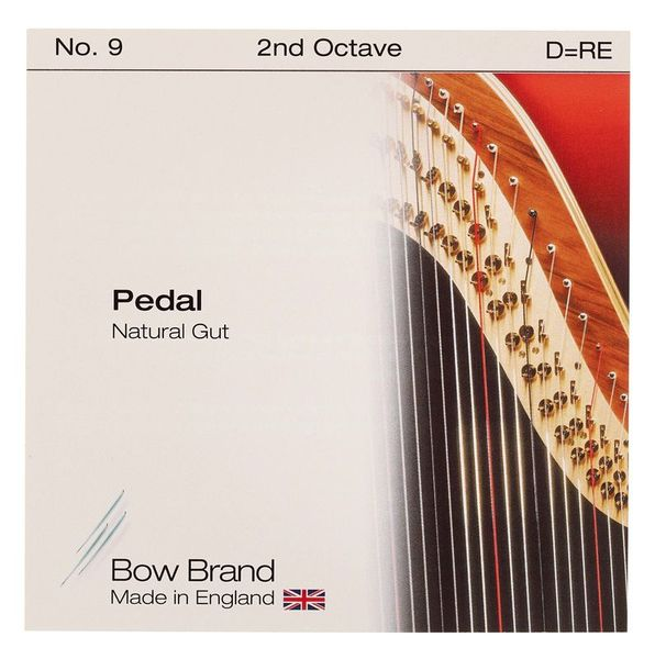 Bow Brand Pedal Natural Gut 2nd D No.9