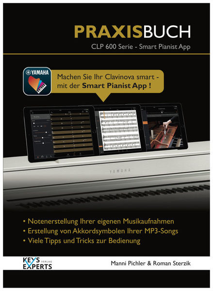 Keys Experts Verlag CLP-600 Smart Pianist PB