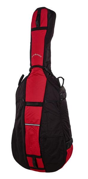 Roth & Junius BSB-01 4/4 RD/BK Bass Soft Bag