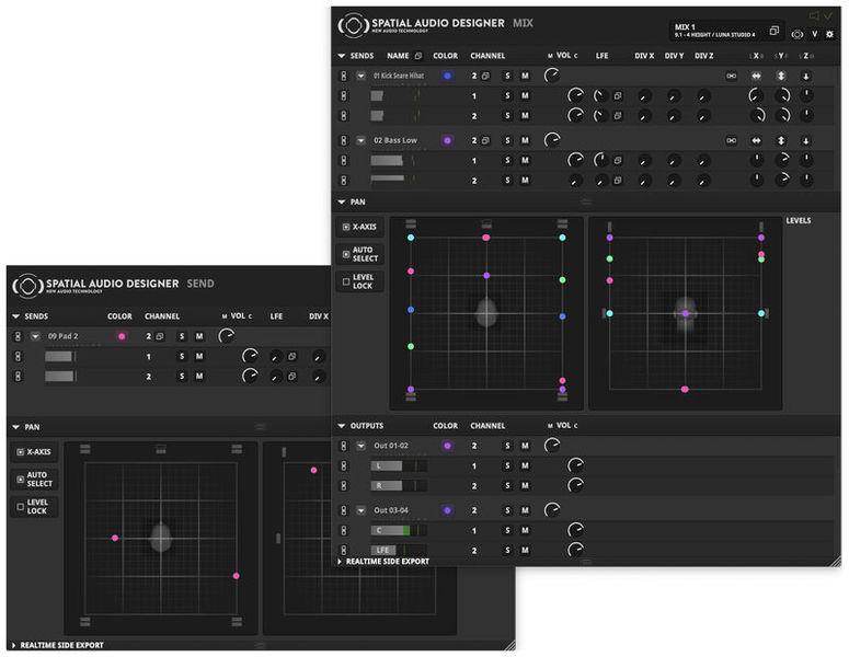 New Audio Technology Spatial Audio Designer - VProd