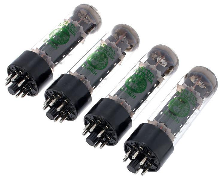 Electro Harmonix EL34EH matched Quartett