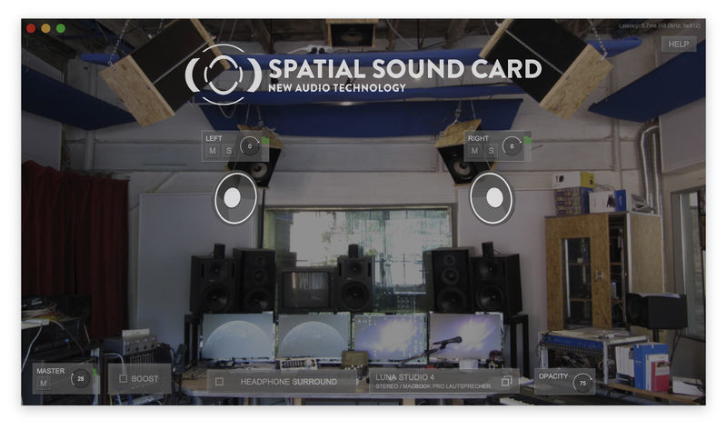 New Audio Technology Spatial Sound Card Pro Stereo