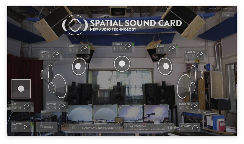 New Audio Technology Spatial Sound Card Pro