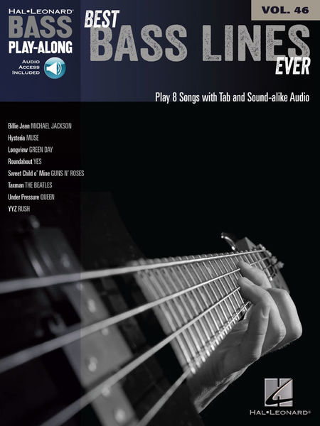Hal Leonard Bass Play-Along Best Bass Line