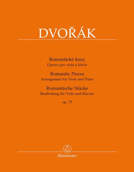 Bärenreiter Dvorak Romantic Pieces op.75