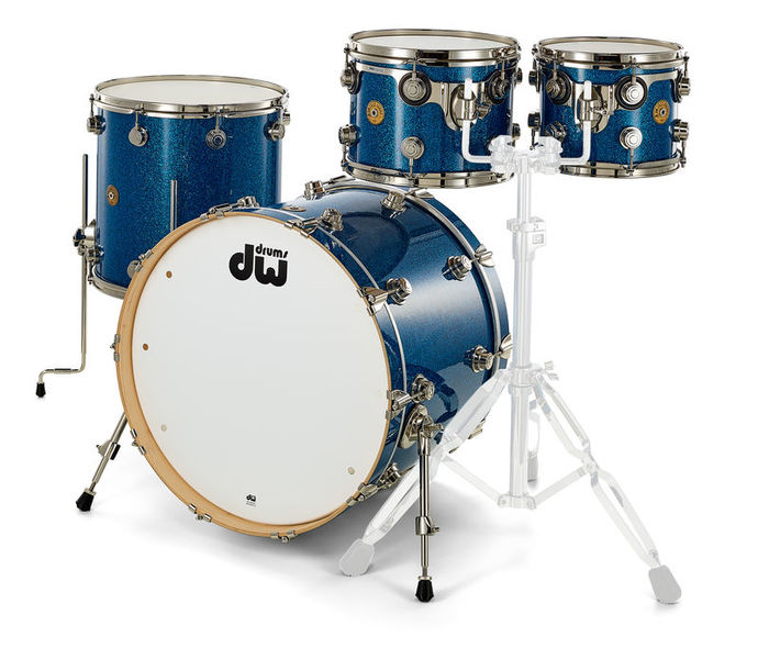 DW Jazz Series Blue Glass