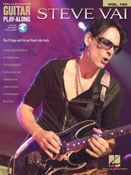 Hal Leonard Guitar Play-Along Steve Vai