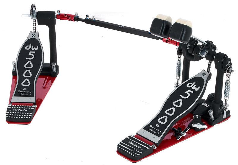 DW 5002AH4 Double Bass Drum Pedal