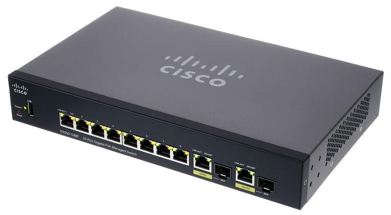 Cisco SG350-10MP Switch