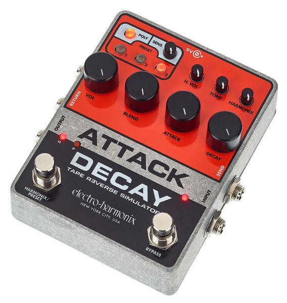 Electro Harmonix Attack Decay Tape Reverse Sim.
