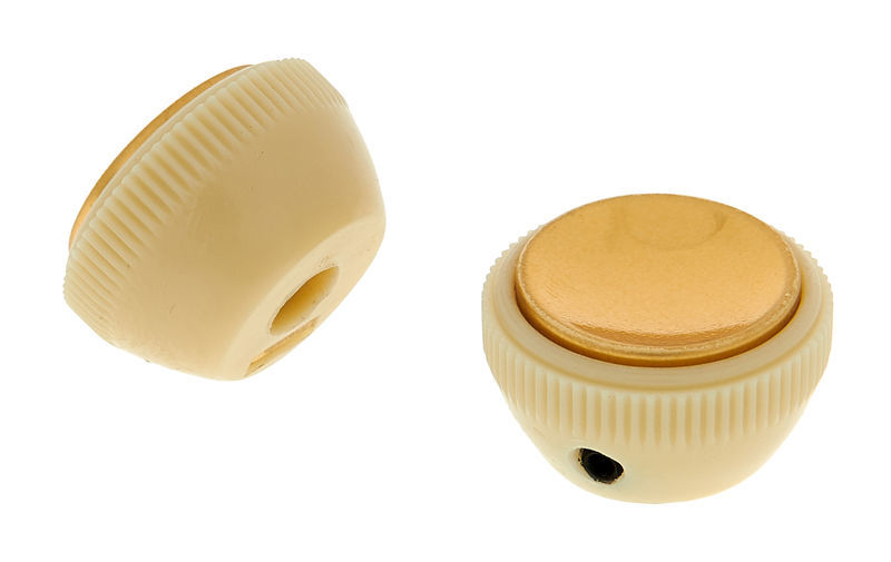 Allparts Hofner-Style Tea Cup Knobs
