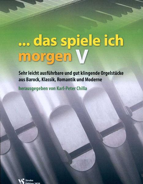 Strube Verlag Das Spiele Ich Morgen 5