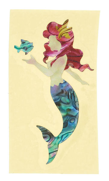 Jockomo Little Mermaid Inlay Sticker