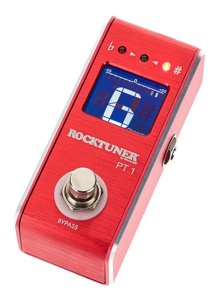 Warwick Rocktuner Pedal Tuner Red