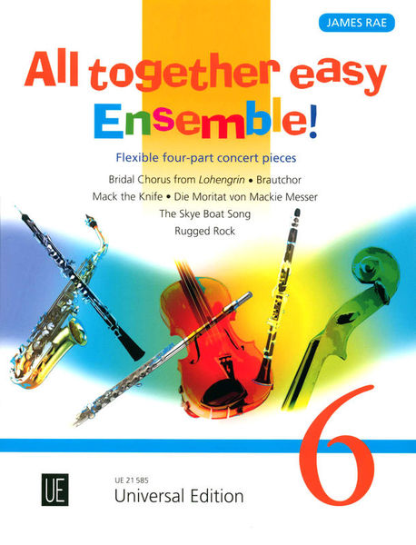 Universal Edition All Together Easy Ensemble 6