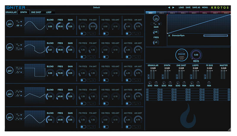 Krotos Audio Igniter Full Tank Thomann Uk