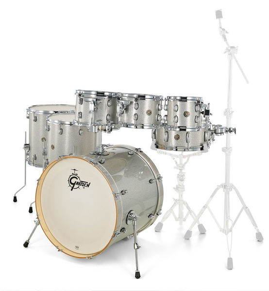 Gretsch Drums Catalina Maple 7-piece Silver