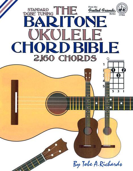 Cabot Books Publishing Baritone Ukulele Chord Bible