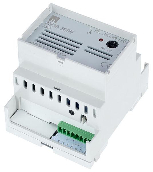 Maintronic AV30 100V Mi AmplifierDIN-Rail