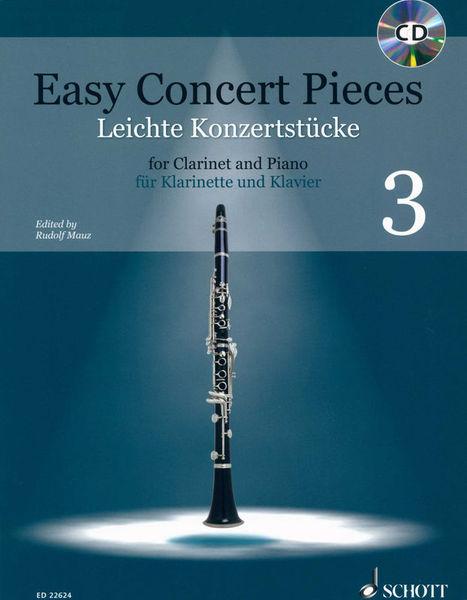 Schott Easy Concert Pieces Clarinet 3