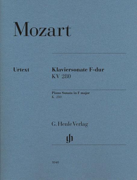 Henle Verlag Mozart Sonate F-Dur KV 280