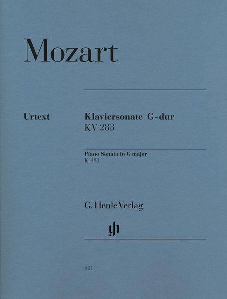 Henle Verlag Mozart Sonate G-Dur KV 283