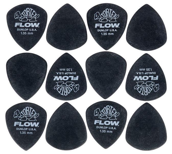 Dunlop Flow Standard Pick Set 1,35 mm