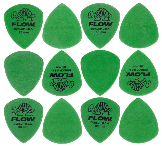 Dunlop Flow Standard Pick Set 0,88 mm