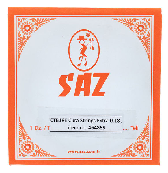 Saz CTB18E Cura Extra Strings
