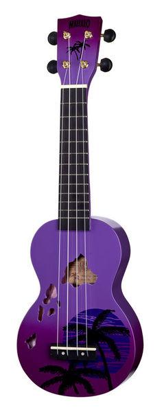 Mahalo Hawaii Purple Ukulele