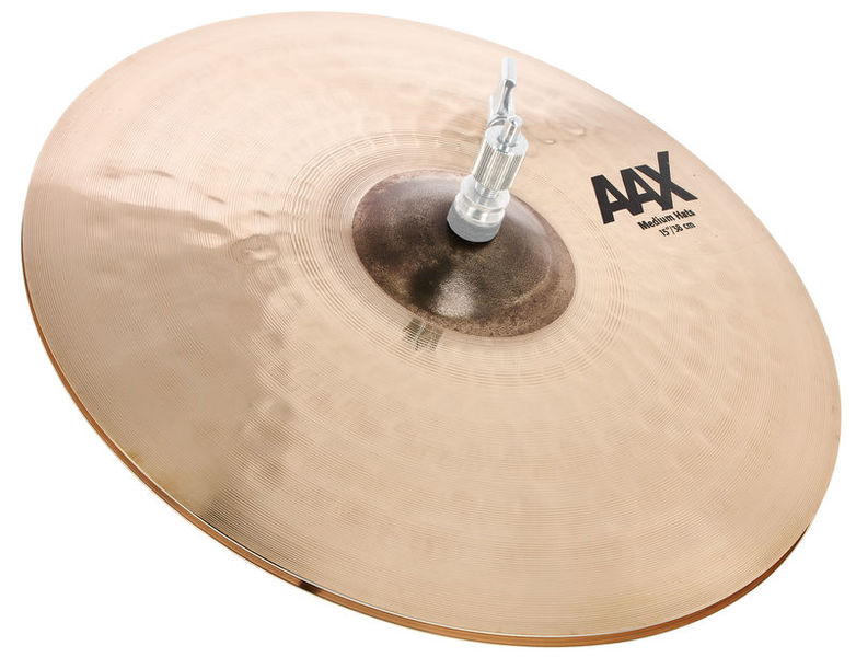 "Sabian 15"" AAX Medium Hi-Hat"