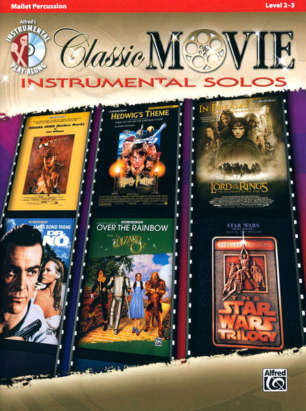 Alfred Music Publishing Classic Movie Instr. Mallets