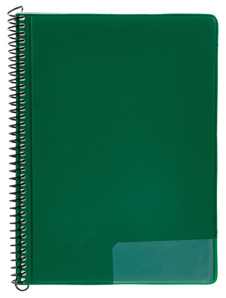 Star Marching Folder 245/20 Green